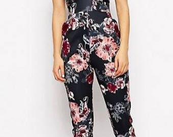 Jessica Winter Floral Jumpsuit