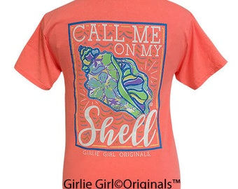 Girlie Girl Originals Call Me Retro Heather Coral Short Sleeve T-Shirt