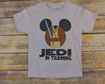 Star Wars Birthday shirt - Star wars Family vacation shirts - Jedi in Training shirt - star wars shirt - Luke skywalker - Birthday shirt