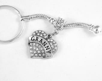 Granny Jewelry granny gift keychain and key chain Granny Jewelry Grandmother Jewelry best jewelry gift