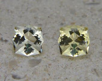 2.30 tcw Heliodor, Natural Untreated, Custom Cut USA Loose Gemstone