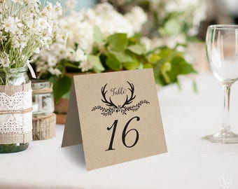 Rustic Table Numbers rintable Wedding Table Numbers 1u201340 Tent Style Table Numbers & Wedding Table Numbers Printable Tent Style Table Numbers
