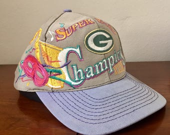 Retro Green Bay Packers Super Bowl XXI Champions Hat