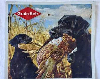 Grain Belt Beer Advertising Sign