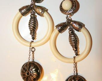 Baroque earrings - ANTIC' ETHNIC'