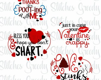 Valentine's Day Toilet Paper Design Bundle 2 svg dxf eps png fcm
