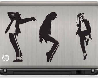 Michael Jackson Sticker,  Laptop Sticker,  Laptop Decal