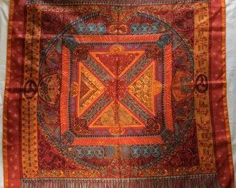 Hermès Silk Scarf: Sur un Tapis Volant (On a Flying Carpet)