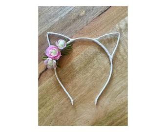 Kitty Cat Ear Headband
