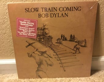 Sealed Bob Dylan Slow Train Coming With Hype Sticker
