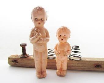 Vintage Hard Plastic Baby Dolls