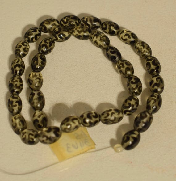 Beads Lucite Black Animal Print Jewelry Necklaces Philippines Lucite Beads 11mm