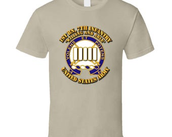 Army - 1st Bn, 7th Infantry - Willing And Able T-shirt