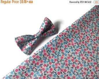 15% off floral bow tie red blue small blossom bow ties for men bow ties for women bow tie for boy pocket square kid floral self tie bowtie m