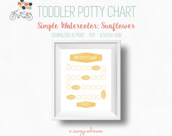 toddler potty chart