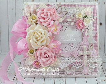 Shabby Chic Happy Easter Greeting Card