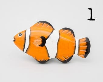 Ocean Fish Fridge Magnets - 10 Styles