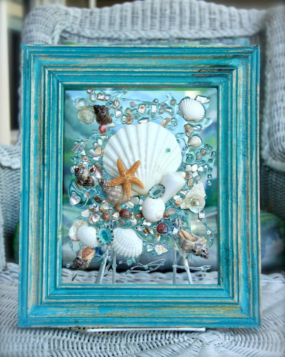 decorative seashell craft ideas decor of seashell bathroom decor wall 4213