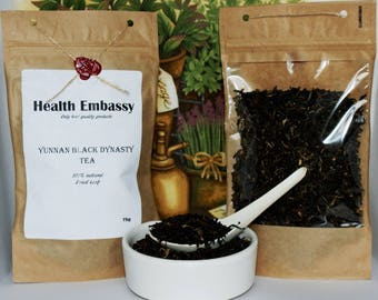 Yunnan Black Dynasty Tea 75g - Health Embassy - Organic