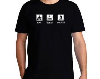 Eat Sleep Boccia T-Shirt
