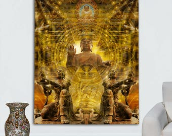Buddhaful Tapestry by Johnathan Singer