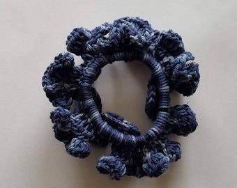 Scrunchie - Blue Mix