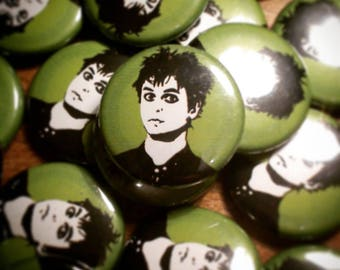 Green day 25mm badge
