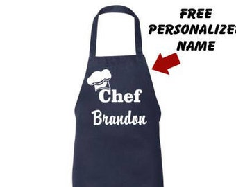 Personalized Apron, Womens apron, Mens Apron, Fathers Day Gift, Papa, Aprons for him, Birthday Day, Husband, Boyfriend Gift, Apron for her