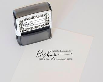 Custom Address Stamp, Self Inking Return Address Stamp, Personalized Address Stamp, Custom Stamp, Wedding address Stamp, invitation stamp