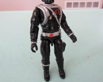 GI Joe Black Cobra Commander Action Figure 1991 Hasbro Free Shipping
