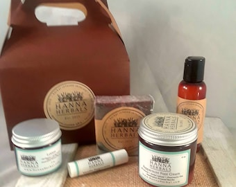 3 Month Subscription Box - Dogwood Ginger - trial size - monthly box - samples - organic skincare set - Gift Idea