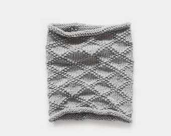Knitting Cowl Pattern / Knitting Scarf Pattern / Knitting Pattern Cowl / Neckwarmer Pattern