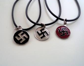 Swastica necklace |Buddhism swastica |Swastika symbol |Swastica sign |Buddhism symbol |Hinduism swastika |Religious symbol