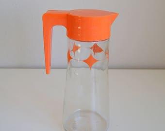 Atomic Style Anchor Hocking Juice/Tang Pitcher L-4027