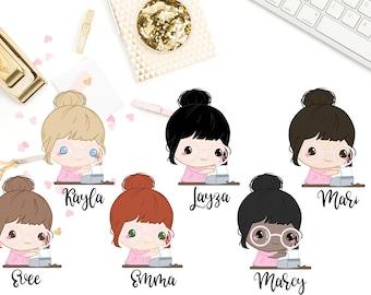 Girlboss Cutie Stickers