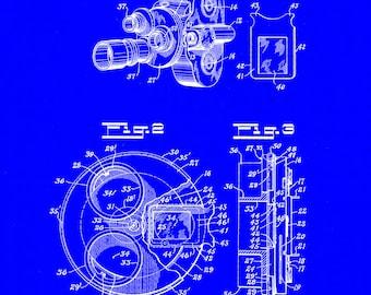 Walsh Camera Patent # 2,188,764 dated Jan 30, 1940.