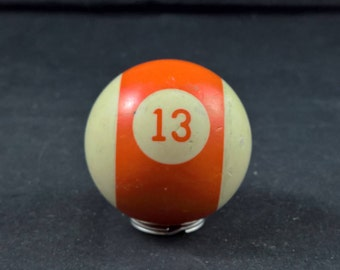 Nr 13 ball old pool ball pool billiard old billiard ball billiard 13 ball vintage pool ball vintage 13 ball vintage billiard ball