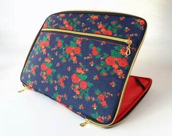 Macbook pro 13 inch case red,pocket,zipper,macbook pro sleeve cover mac case 13.3 hard for laptop 14,case mac book pro retina air floral