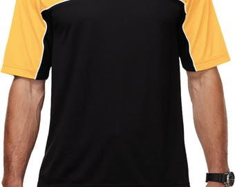 Men's Ford Mustang Pocket Print Polo Tee T-Shirt 21286D1-PP-K908