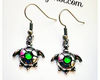 Sea Turtle Earrings