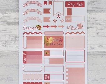 PEACH Weekly Sampler Set - Stickers for Planners!