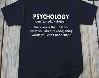 Psychology T-shirt Christmas Gift Funny Psychology Shirt Gift For Teacher Psychology Gifts
