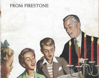 Favorite Christmas Carols From Firestone 1960, Firestone Tire and Rubber Co.