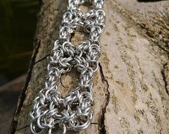 Byzantine Ladder Cuff Bracelet