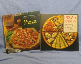 SALE! Pizza California Style Cookbook, Kolpas 1989 & Pizza 1993 (was 8.00)