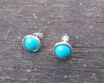 50 style earrings one, turquoise earrings