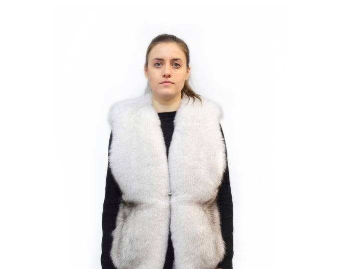 Fabulous Fox Fur Vest F387