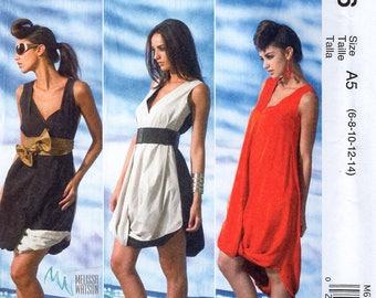 McCall's 6746 Sewing Pattern Free Us Ship Generation Next Melissa Watson Pouf Dress Size 6/14 Bust 30 31 32 34 36 Out of Print new