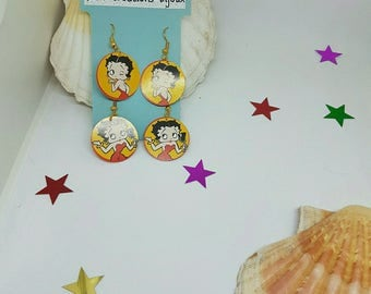Set of 2 pairs of earrings Betty