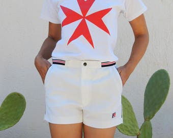 Vintage Fruit of the Loom jersey white short sleeve T-Shirt.size s